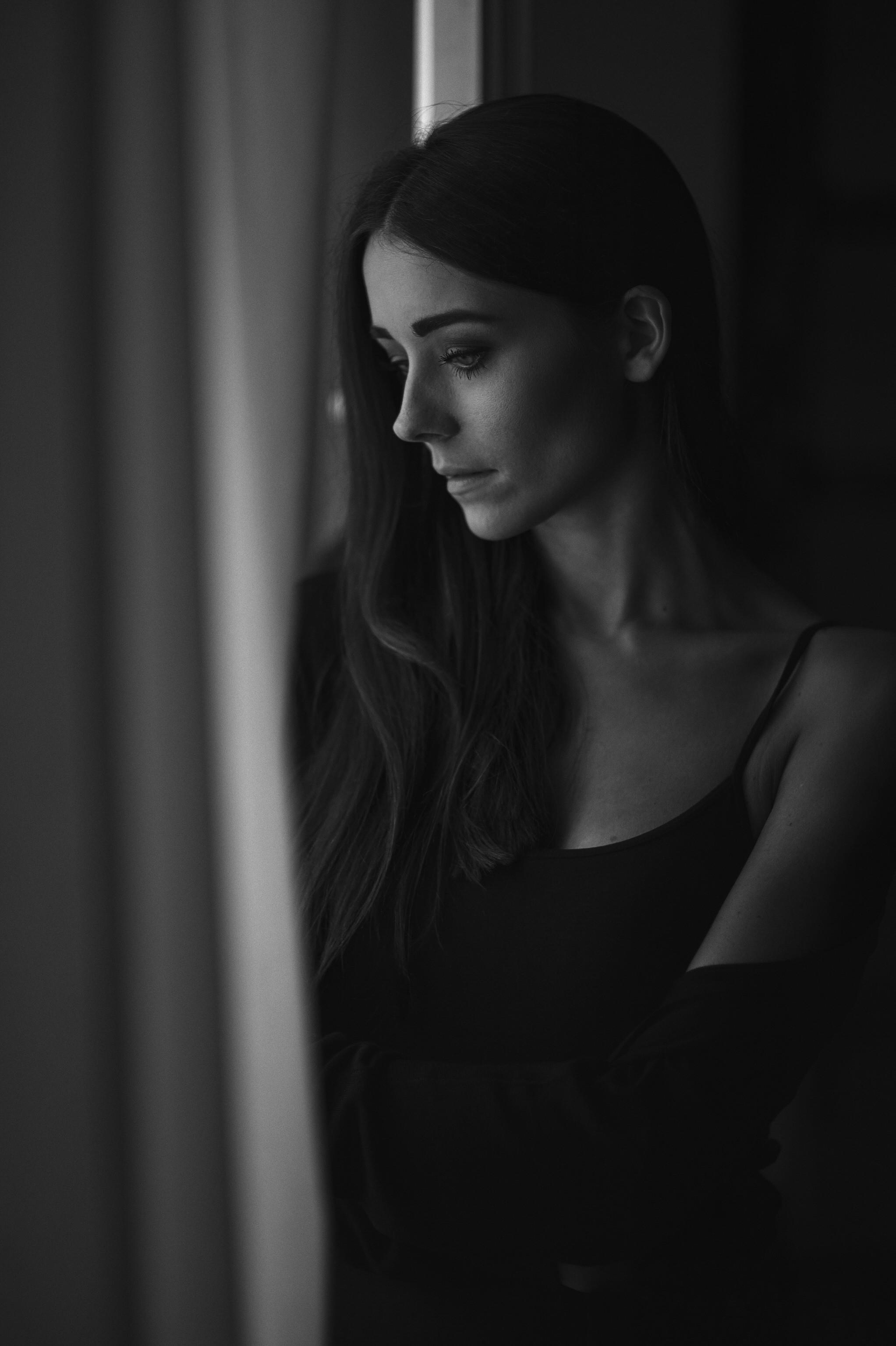 Ruhige Portraits in schwarz-weiss