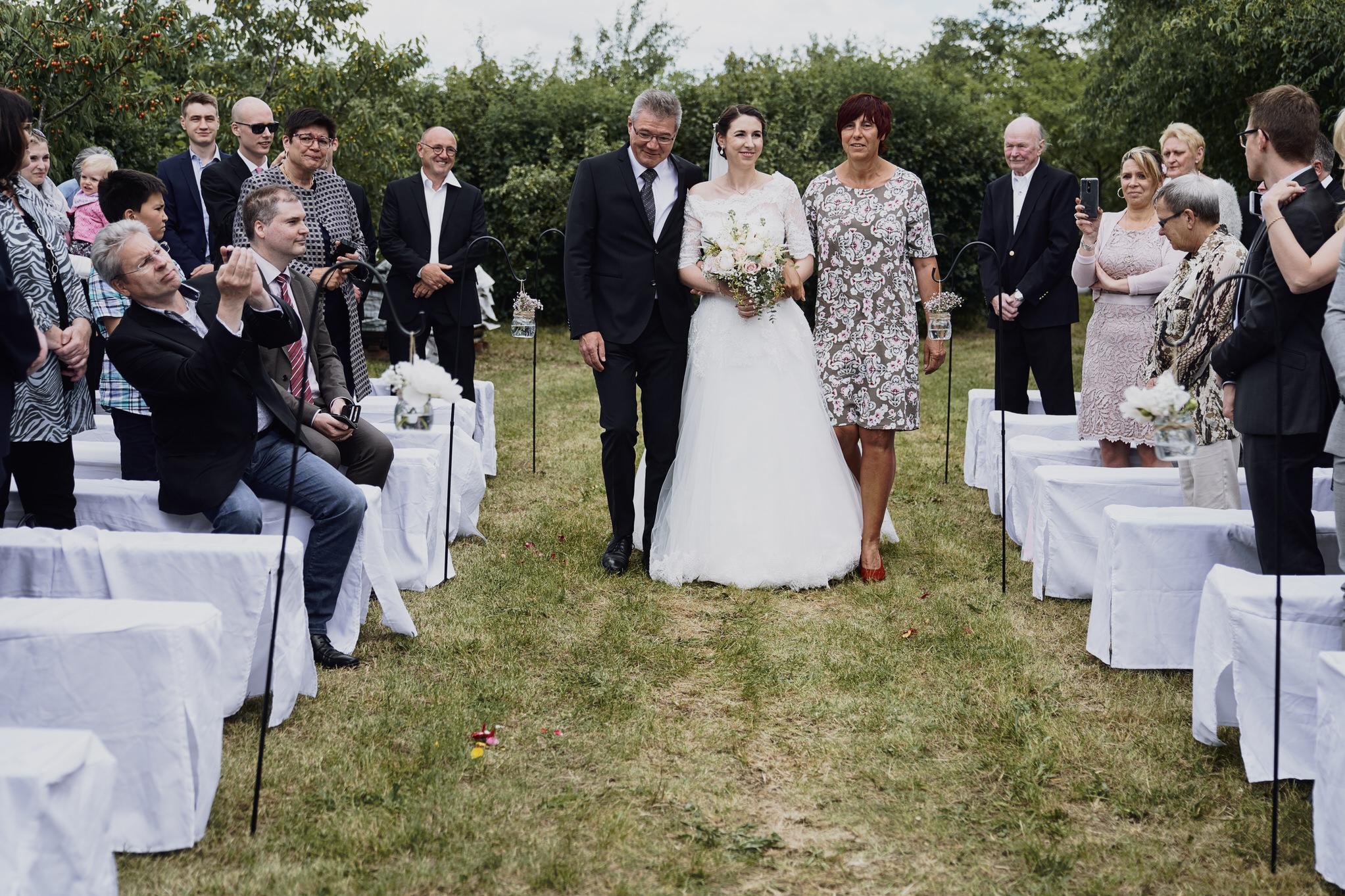 Hochzeit im Weingut Petri