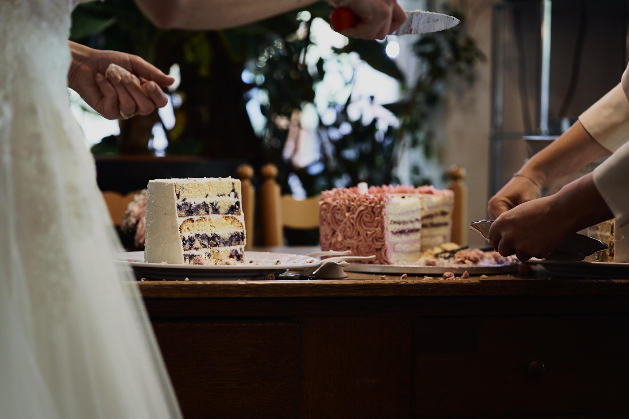 Hochzeitstorte im Weingut Petri